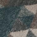 Covor Dakari Nuru Blue Cream Grey, Flair Rugs, 160 x 230 cm, 100% polipropilena, albastru