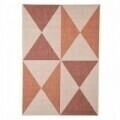Covor indoor outdoor Floorita GEO RUST RED 135X190