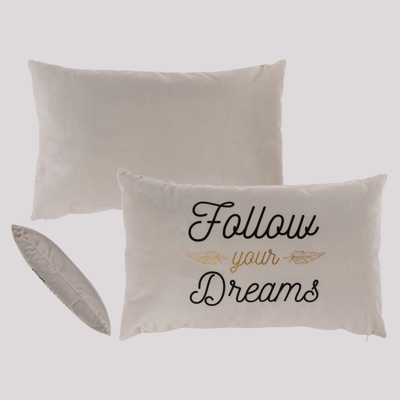 Pernă decorativă Follow your Dreams