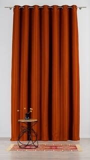 Draperie Mendola Interior, Bordeaux, 140x260 cm, poliester, caramiziu