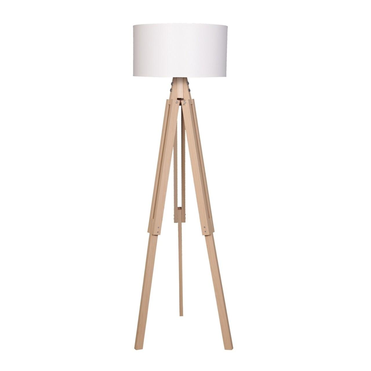 Lampadar Casa Parasio, 38x145 cm, 1 x E27, 60 W, natural