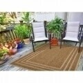 Covor indoor outdoor Floorita BORDER BEIGE 160X230