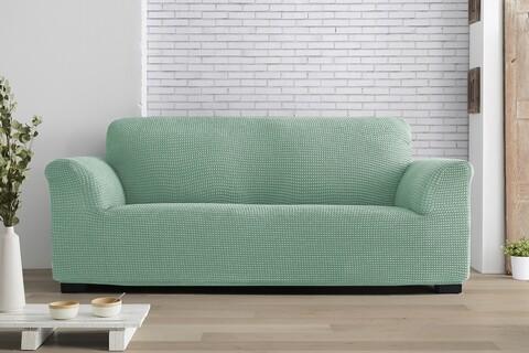 Husa elastica canapea, Belmarti, Milos, 3 locuri, menta