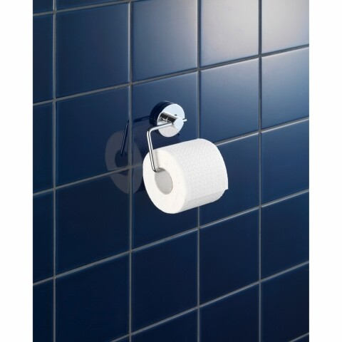 Suport pentru hârtie igienică WENKO Vacuum-Loc®, fără găurire și înșurubare