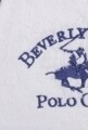 Halat de baie barbati, Beverly Hills Polo Club, 100% bumbac, L/XL, White