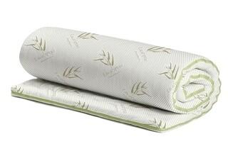Topper saltea Confort Eucalyptus, Green Future, 140x200 cm